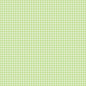 Tiny Green & White Gingham Check — Stock Photo