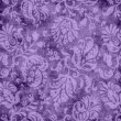 Vintage Purple Floral Tapestry — Stock Photo #15433031