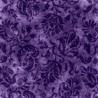 Vintage Purple Floral Tapestry — Stock Photo #15548509
