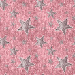 Seamless Stars on Sparkly Pink — Stock Photo #15573231