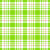 Seamless Bright Green Plaid Background — Stock Photo