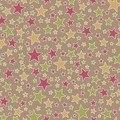 Seamless Star Pattern — Stock Photo