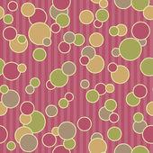 Seamless Dots & Stripes — 图库照片