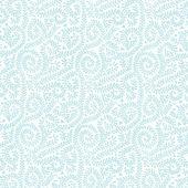Pastellblau auf weiße rebe-muster — Stockfoto