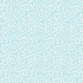 White on Pastel Blue Vine Pattern — Stock Photo