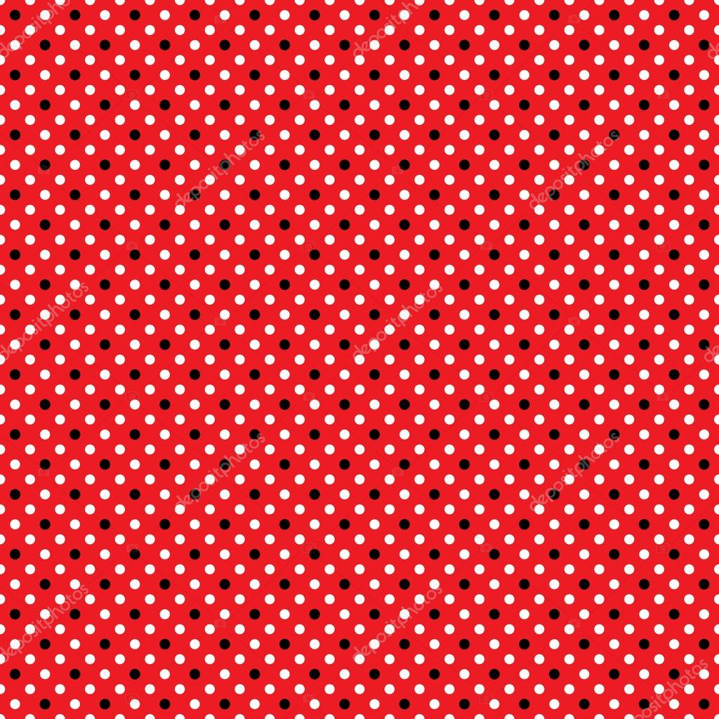Seamless polka dot pattern stock photo songpixels for Red and white polka dot pattern