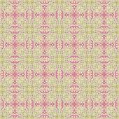 Bezešvé zdobené damaškové styl vzorek — Stock fotografie
