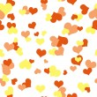 Stock Photo: Seamless Hearts Design