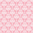 Stock Photo: Seamless Pink & White Damask