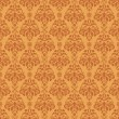 Stock Photo: Seamless Warm Damask