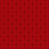 Senza soluzione di continuità rosso & nero damascato — Foto Stock