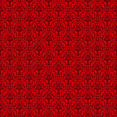 Seamless Red & Black Damask — Stock Photo