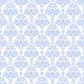 Blue & White Damask — Stock Photo