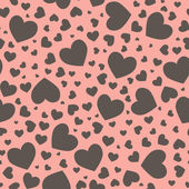 Patrón de corazón transparente — Foto de Stock