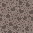 Seamless Heart Pattern — Stock Photo