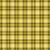 Plaid noir, jaune, blanc — Photo