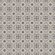Seamless Grey Damask Pattern — Stock Photo