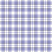 Seamless Blue Plaid — Stock Photo
