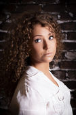 Young woman glamour portrait — Stock Photo