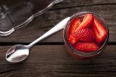 Erdbeeren — Stockfoto