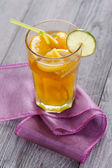 Citrus flavour tea — Stock Photo