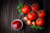 Fresh ketchup — Φωτογραφία Αρχείου