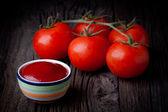Ketchup frais — Photo