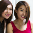 Young Asian ladies — Stock Photo