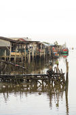 Chinese Fishing Harbour — Stock Photo
