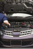 Fixing car — Foto Stock