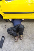 Repairing Car — Stock Photo