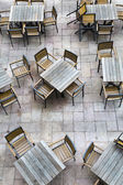 Empty chairs — Stock Photo