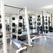 Stock Photo: Gym Equipments