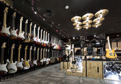 Musical instrument store — Foto de Stock