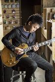 ギタリスト — ストック写真