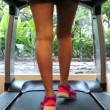 Stock Video: Treadmill