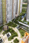Район жилой застройки — Стоковое фото