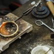 Stock Photo: Jewelery making