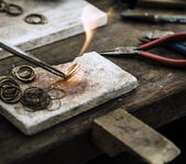 Jewelery making — Stockfoto