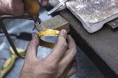 Jewelery making — Stock Photo