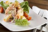 Cream prawn — Stock Photo