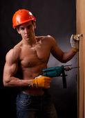 Silne pracownika — Zdjęcie stockowe