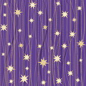Stripy pattern with stars — Stock Vector