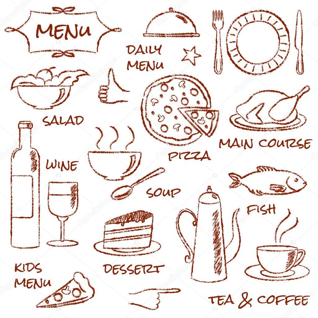 Рисунки карандашом меню