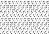 Seamless pattern with cats - vector illustration — Vetor de Stock