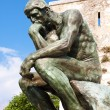 Royalty-Free Stock Photo: Copy of The Thinker of Rodin