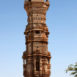 Tower of fame inside Chittorgarh fort aerin rajasthstate in india — Stock Photo #12682519