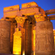 The Kom Ombo temple - Stock Photo