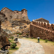 Kumbhalgarh Fort near ranakpur in rajasthan state in india - Stock Photo