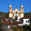 Matriz de Santo Antonio church of tiradentes minas gerais brazil — Stock Photo